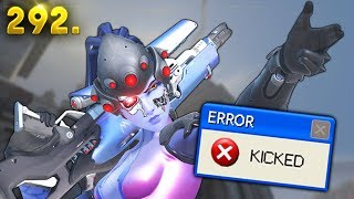 Kicked for being too Good..  | OVERWATCH Daily Moments Ep. 292 (Funny and Random Moments)