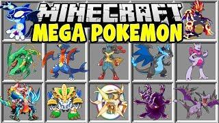 Minecraft MEGA POKEMON MOD | CATCH THE STRONGEST POKEMON IN MINECRAFT!!