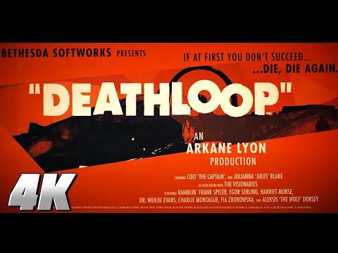 DEATHLOOP – Official 4K Gameplay Reveal Trailer