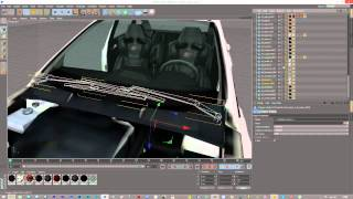 Cinema 4D | Setting Up Cars For Animation Tutorial