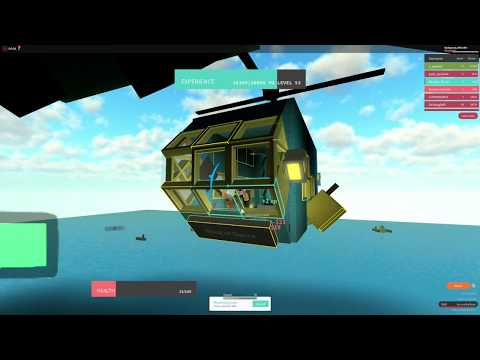 Roblox: WHATEVER FLOATS YOUR BOAT! Helicopter Part 5