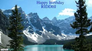 Riddhi  Nature & Naturaleza - Happy Birthday