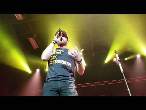 Cole Swindell *Both Sides Of The Mississippi* Stage AE 8/23/18