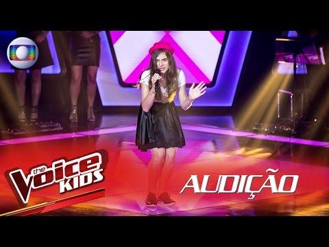 Luísa Rossoni canta 'Hit The Road Jack' na Audição – The Voice Kids Brasil | 2ª Temporada