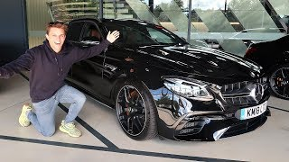 COLLECTING A NEW MERCEDES-AMG E 63!
