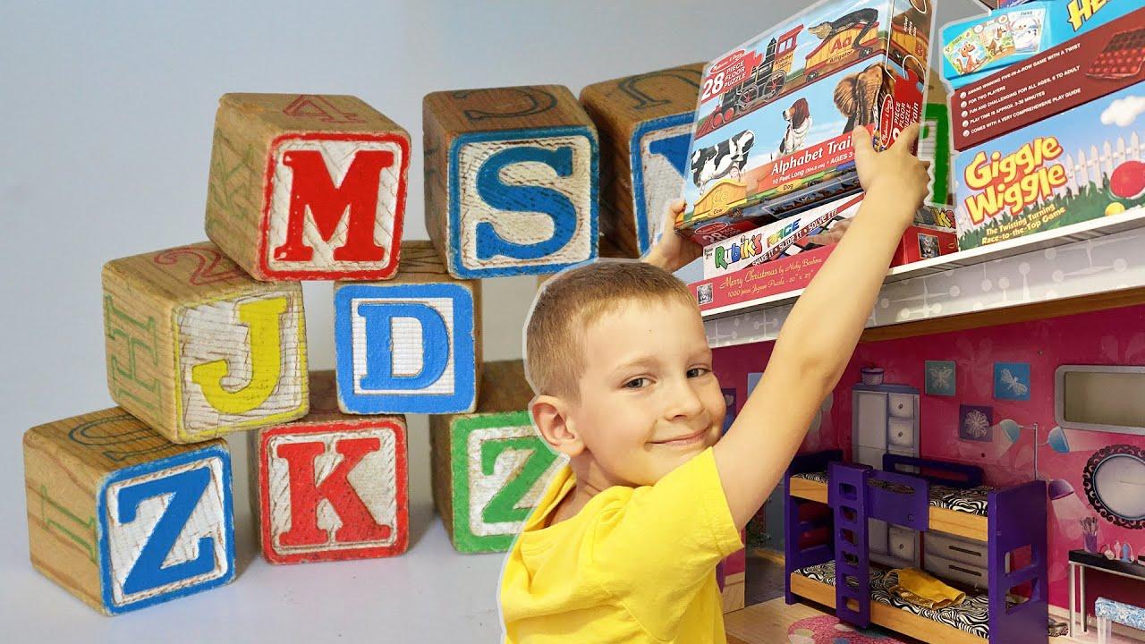 ABC Songs for Kids | Jacob Go | alphabet puzzle