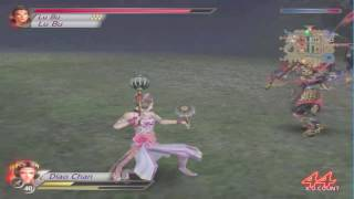 Dynasty Warriors 4 PC - Diao Chan gameplay