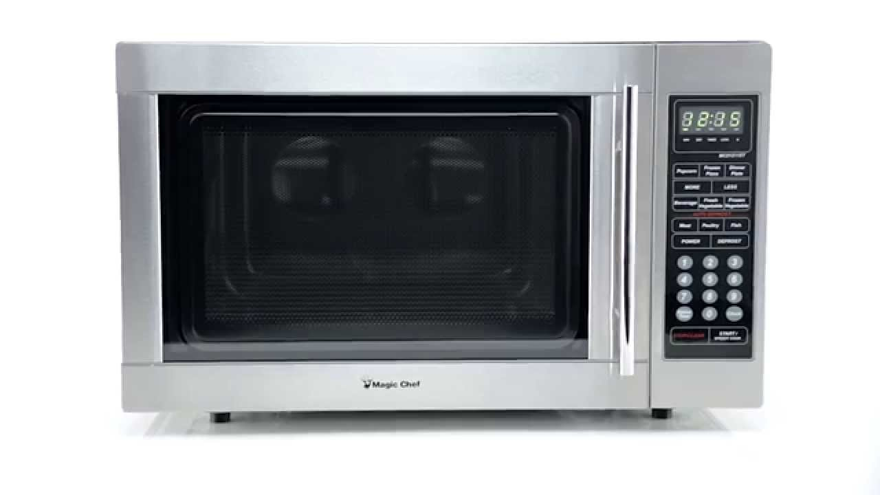 Mcd1311st Magic Chef Countertop Microwave Oven 1 3 Cu Ft