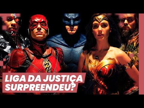 NÃO É QUE LIGA DA JUSTIÇA É LEGAL? (SEM SPOILERS) ft Guilherme Athaide