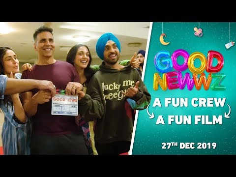 #BehindTheGoodNewwz | Fun Crew = Fun Film | Akshay, Kareena, Diljit, Kiara, Raj | Good Newwz | 27Dec