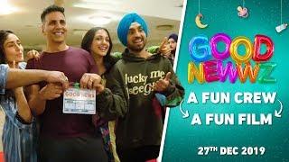 BehindTheGoodNewwz  Fun Crew  Fun Film  Akshay Kareena Diljit Kiara Raj  Good Newwz  27Dec