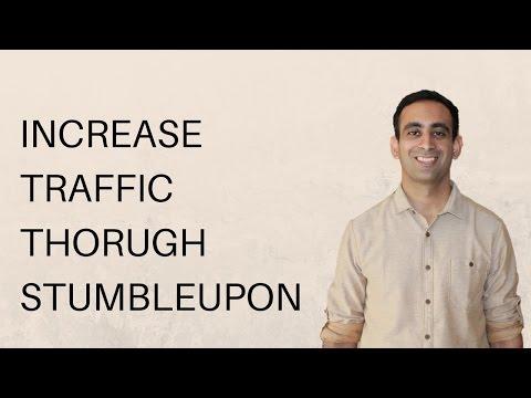 Increase traffic through StumbleUpon