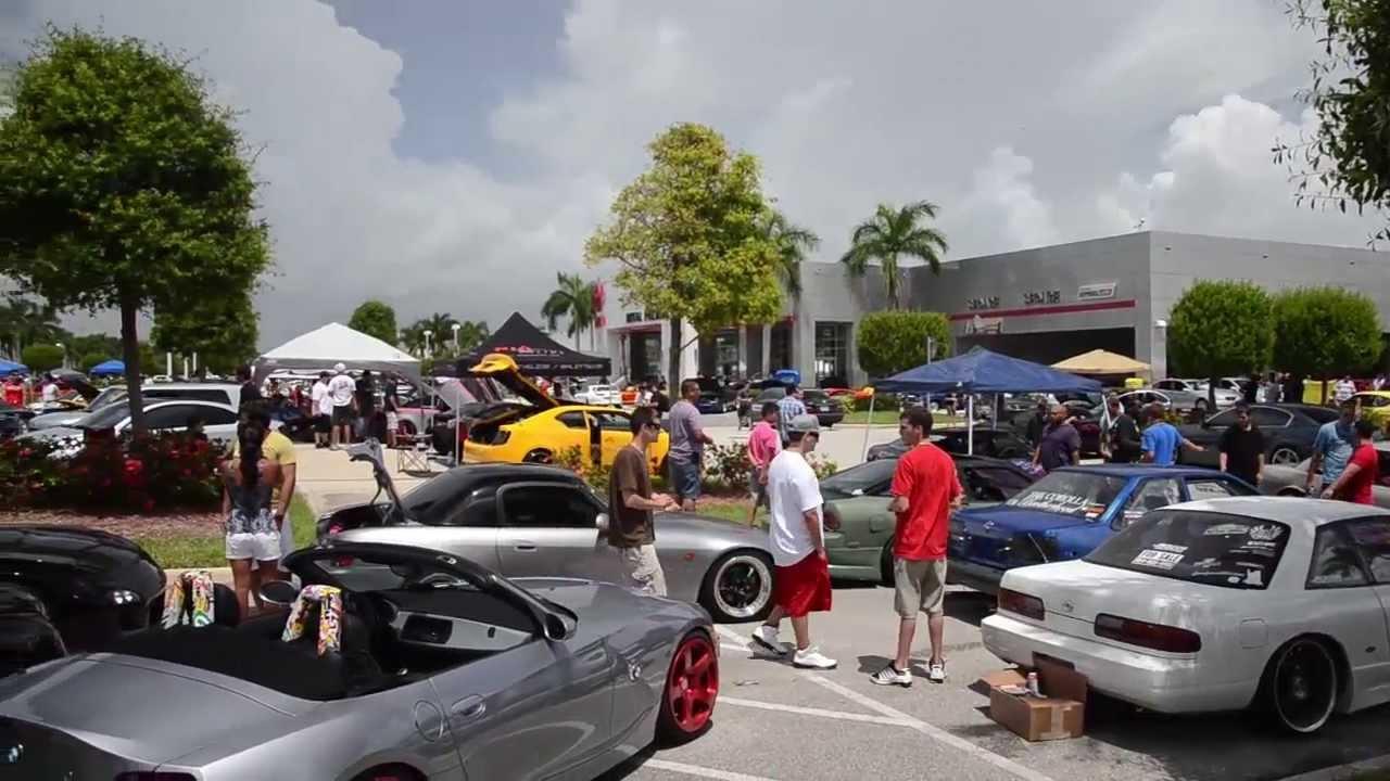 Royal Palm Toyota Modified Car Meet | June 23rd 2013 - YouTube