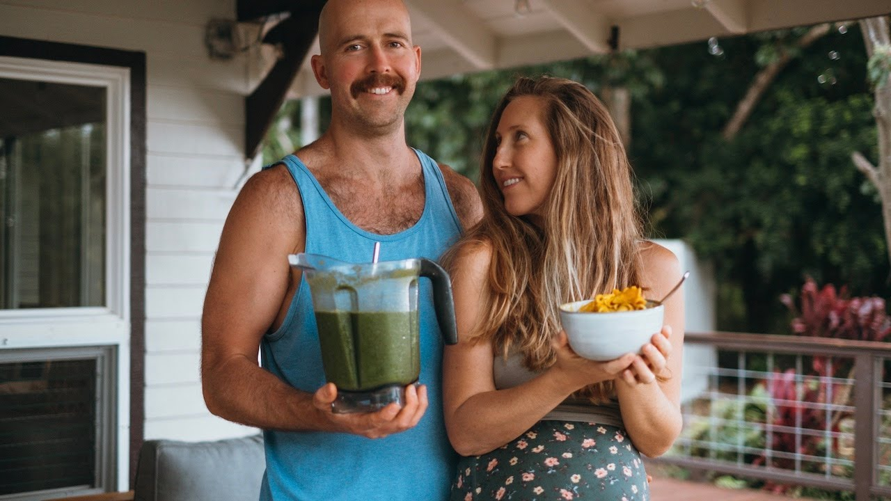 What We Ate Today as a VEGAN COUPLE