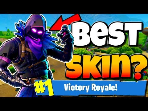 NEW RAVEN SKIN FORTNITE BATTLE ROYALE | Best Skin Yet? - Fortnite Raven Skin Gameplay & Review