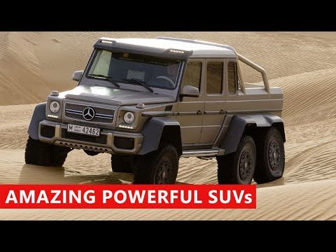 10 most powerful suvs coming in 2018 youtube. Black Bedroom Furniture Sets. Home Design Ideas
