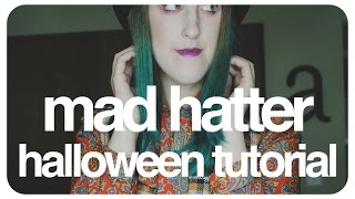 Mad Hatter Halloween Tutorial  |  abb3rz07