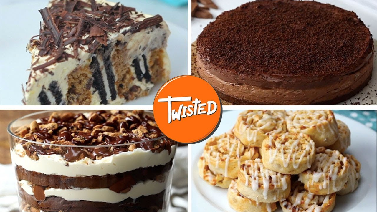 7 Best Twisted Chocolate Desserts Chocolate Cake Recipes Homemade Brownies Twisted Youtube