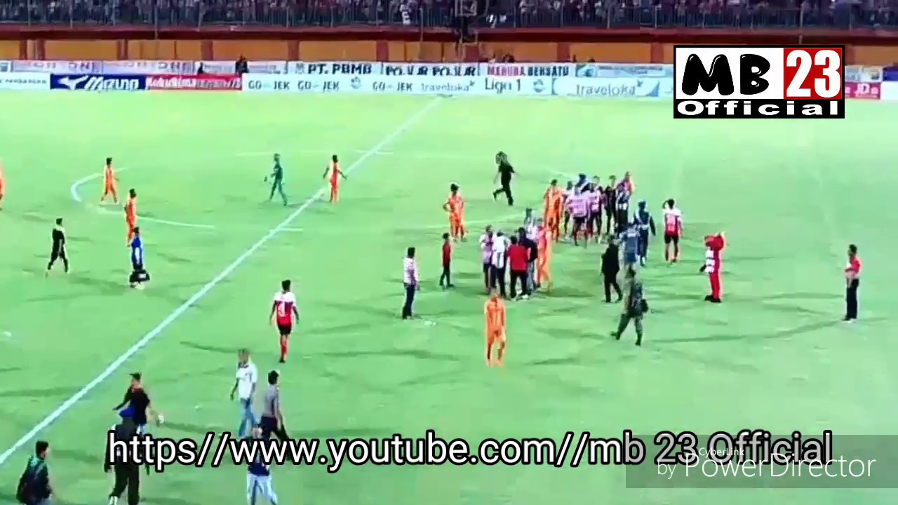Madura Vs Borneo Facebook: Madura United Vs Borneo FC 1-1 Rusuh Di Menit Akhir