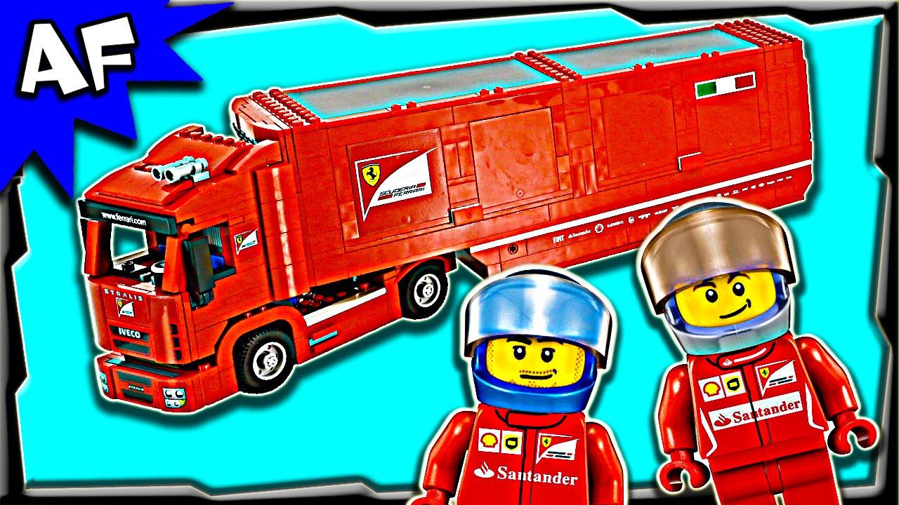 lego speed champions scuderia ferrari truck f14 t 75913. Black Bedroom Furniture Sets. Home Design Ideas
