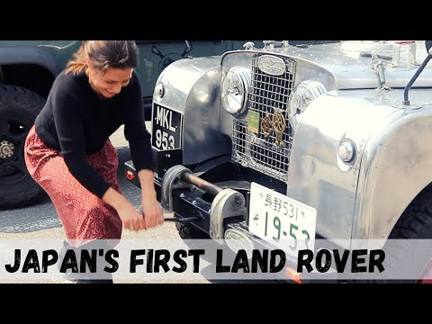 How To Start A 67 Yo LAND ROVER (Ep122 GrizzlyNbear Overland)