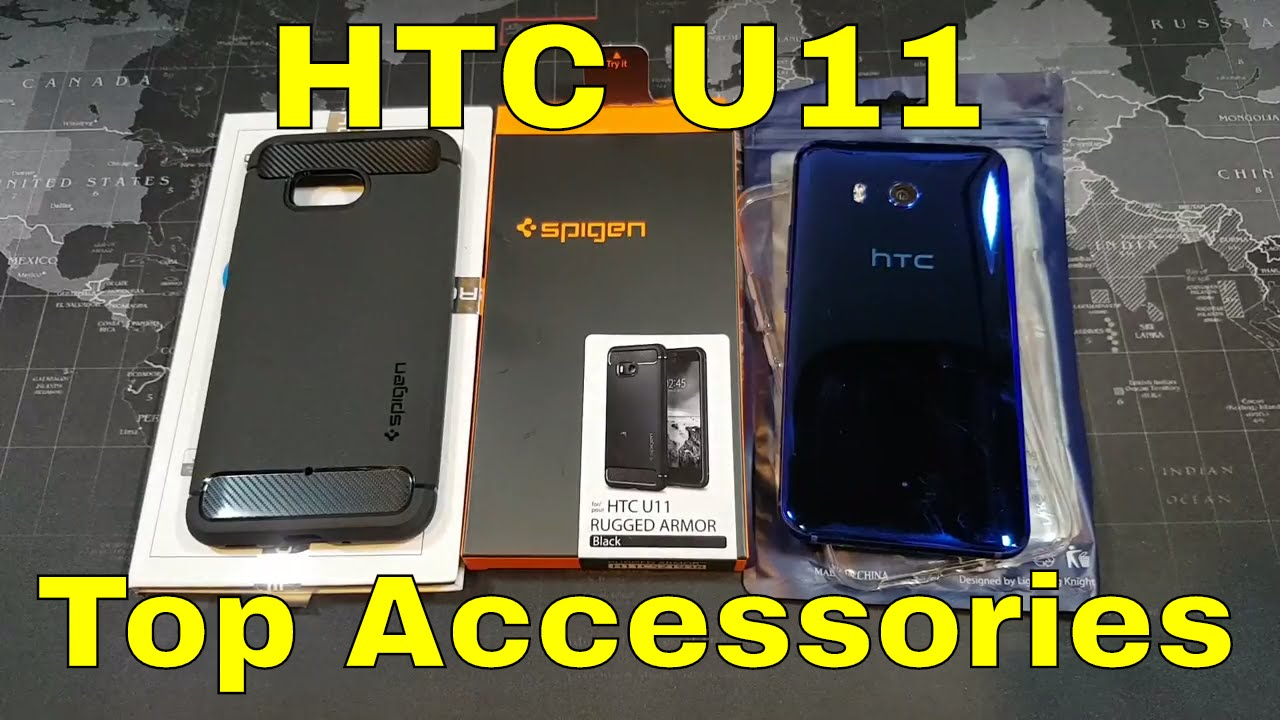 huge selection of dddf5 35b4a HTC U11 - My favorite cases and screen protectors so far.