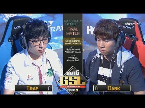 [2017 GSL Season 3]Code S Ro.32 Group F Match5 Trap vs Dark