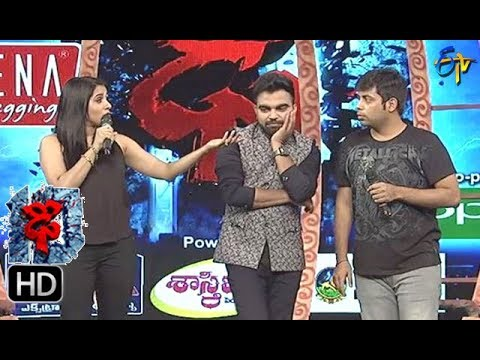 Rashmi Funny Task   Dhee 10   4th October 2017   ETV Telugu