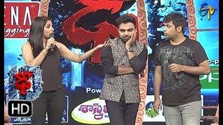 Rashmi Funny Task | Dhee 10 | 4th October 2017 | ETV Telugu