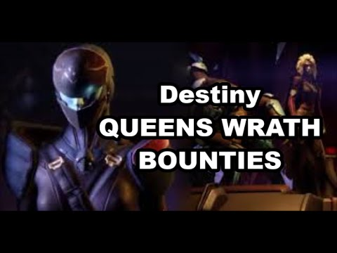 Destiny How to do QUEENS WRATH Bounties - DREVIS, WOLF BARONESS + location