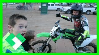 FAMILY NIGHT AT THE TRACK (5.13.15 - Day 1139)