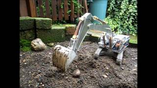 My 330d rc hydraulic excavator - made by Magom HRC