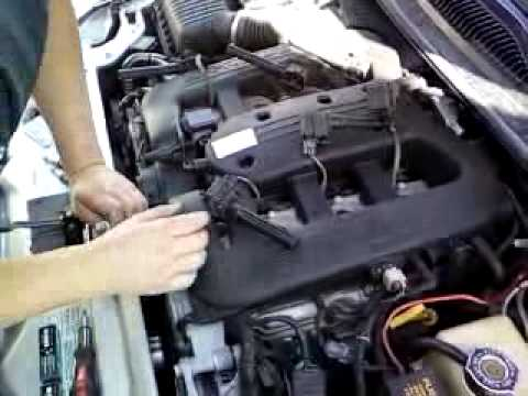 hqdefault chrysler 300m spark plug repair video 1 of 3 youtube chrysler 300m wiring diagram at readyjetset.co