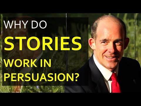 Why do Stories work in Persuasion?