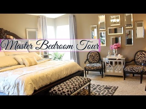 ♥ Glam Home ♥ Master Bedroom Tour ♥ ~GLAMEVERYTHING~