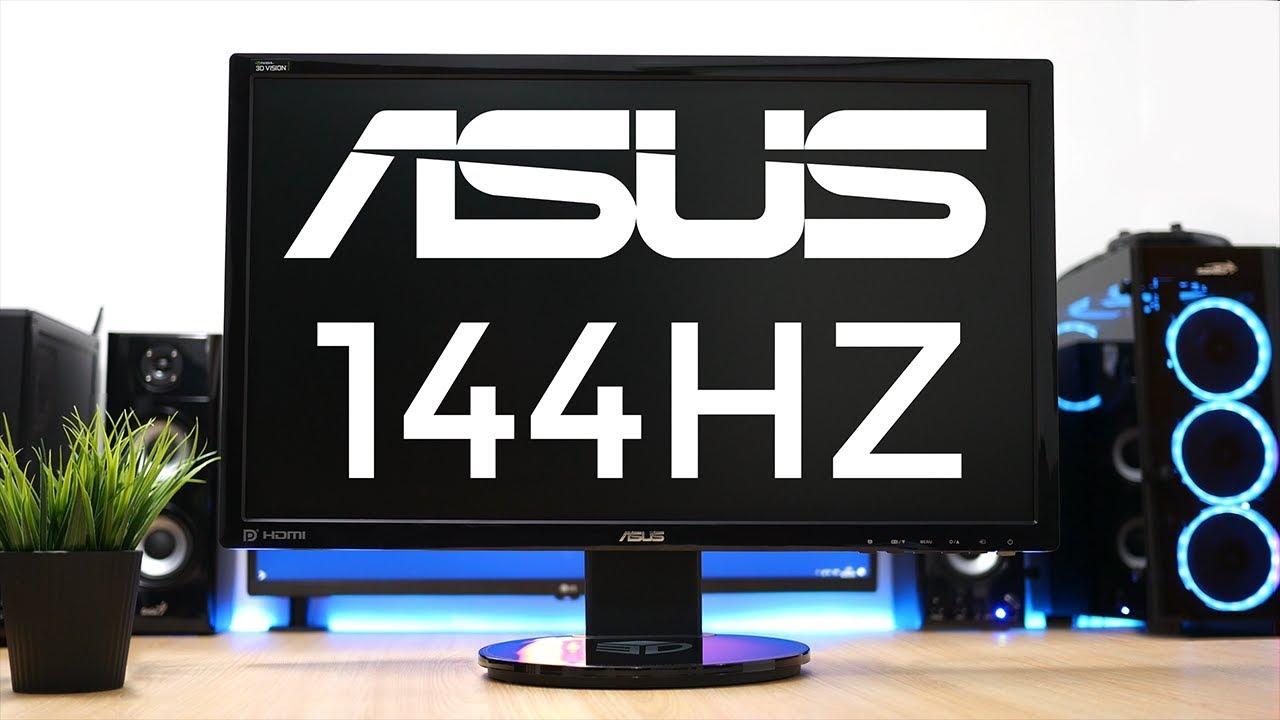 El Mejor Monitor Gaming 144hz Calidad Precio Asus Vg248qe Review