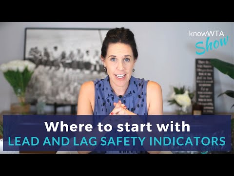 Where to Start with Lead & Lag Safety Indicators