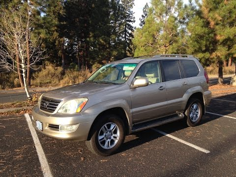 2003 Lexus Gx470 Review