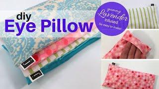 DIY  Lavender EYE PILLOW | Easy Sewing Tutorial