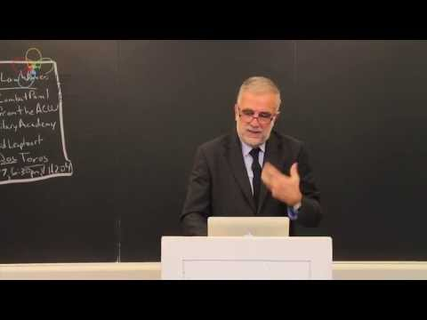 Week 13 Global Justice with Luis Moreno Ocampo