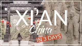 Complete Tour Guide to Xi'an China | China Vlog 2018, 西安, 华山
