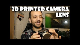 How to 3D Print Your Own Pinhole Camera Lens(How to 3D Print Your Own Pinhole Camera Lens I like a bit of experimentation and a little bit of art so I put together my own lens for my micro 4/3 cameras!, 2015-12-17T08:30:00.000Z)