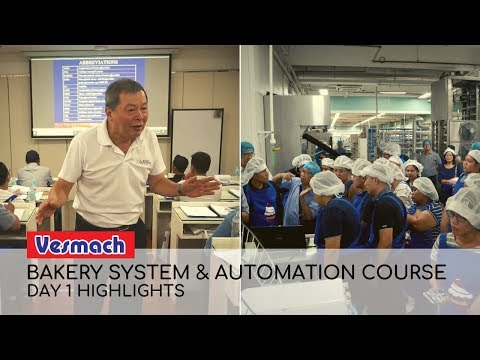 Bakery System And Automation Course Day 1 Highlights