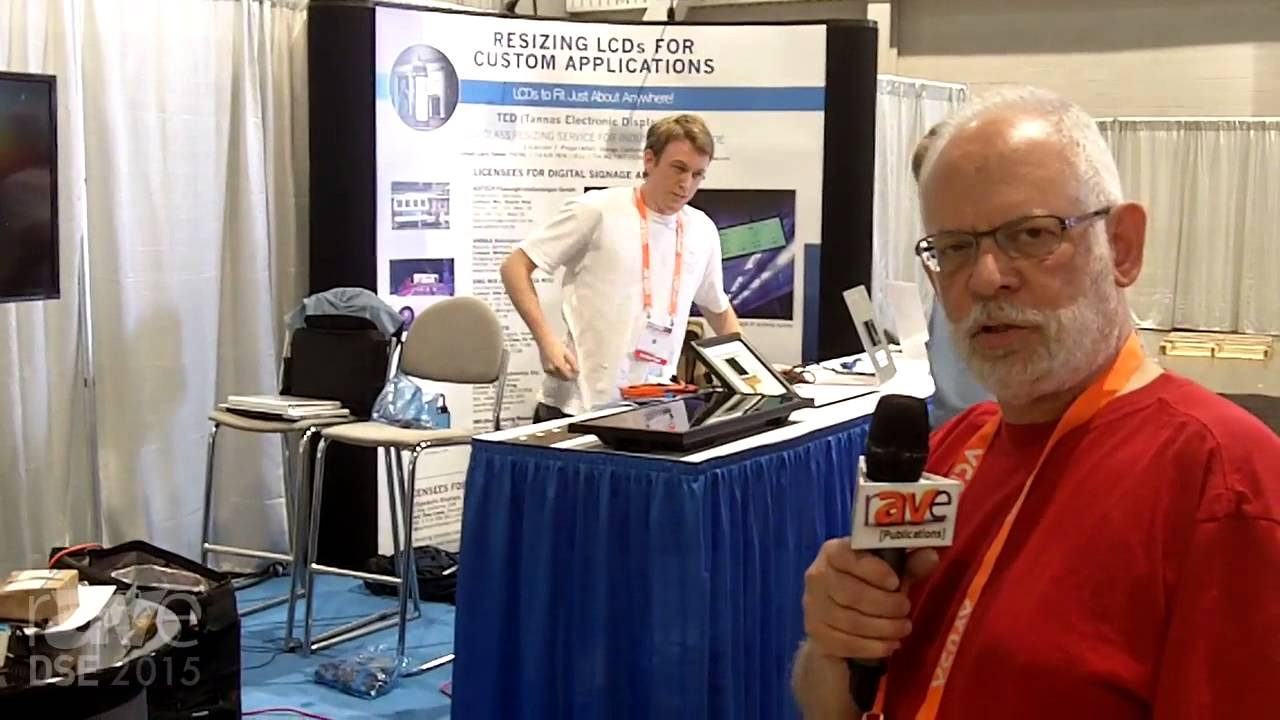 DSE 2015: Tannas Electronic Displays Details LCD Resizing & Consulting