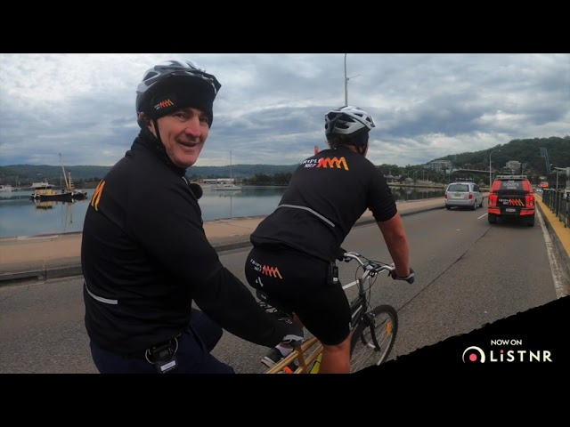 Mic's on Bikes: Riding A Tandem Bike Across The Central Coast | Triple M