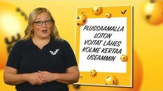 Lotto uudistuu - Nyt voit Plussata  Veikkaus