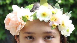Bloemenband / Flower Crown DIY