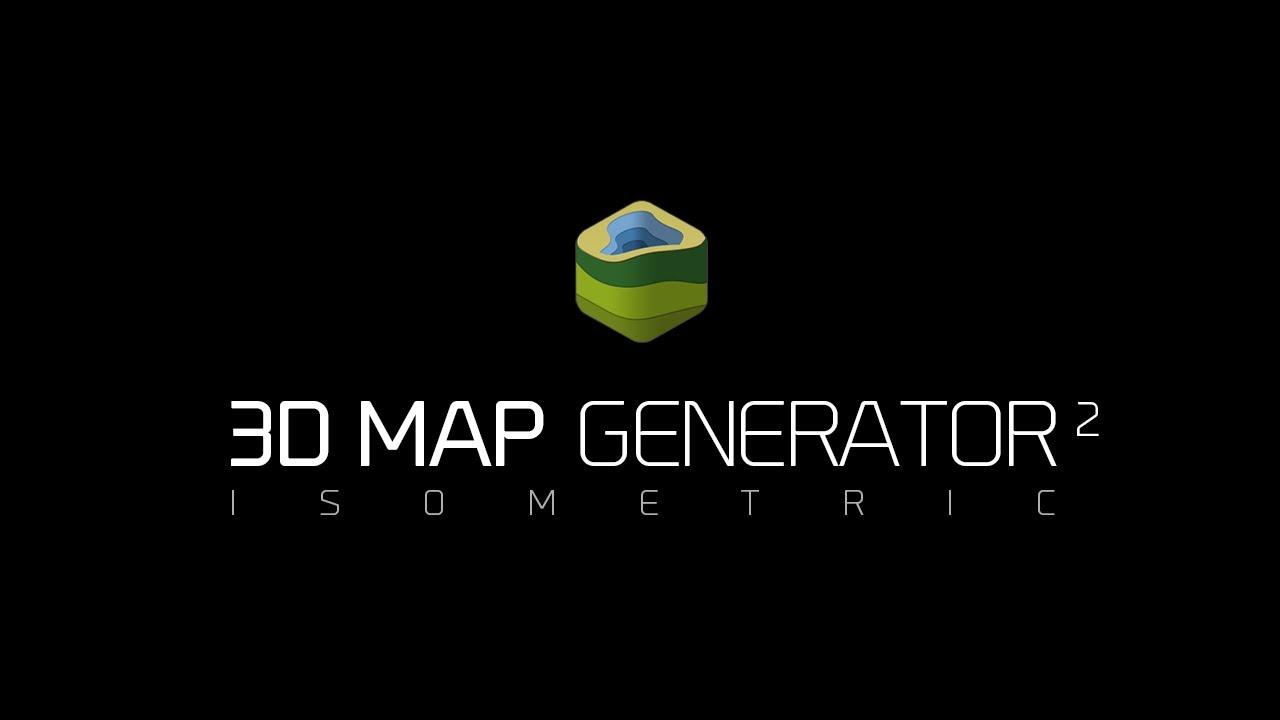 3D Map Generator – Cartoon-style 3D map generation presets