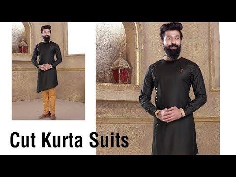 Mens Cut Kurta Collection 2018-19 - Men's Indian Wear