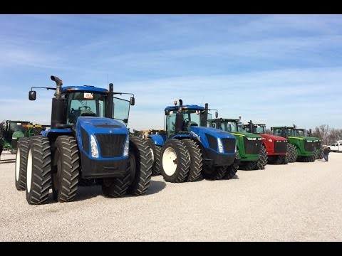 Late Model 4WD Tractors Sold Today on Ritchie Bros. Auction in St. Louis